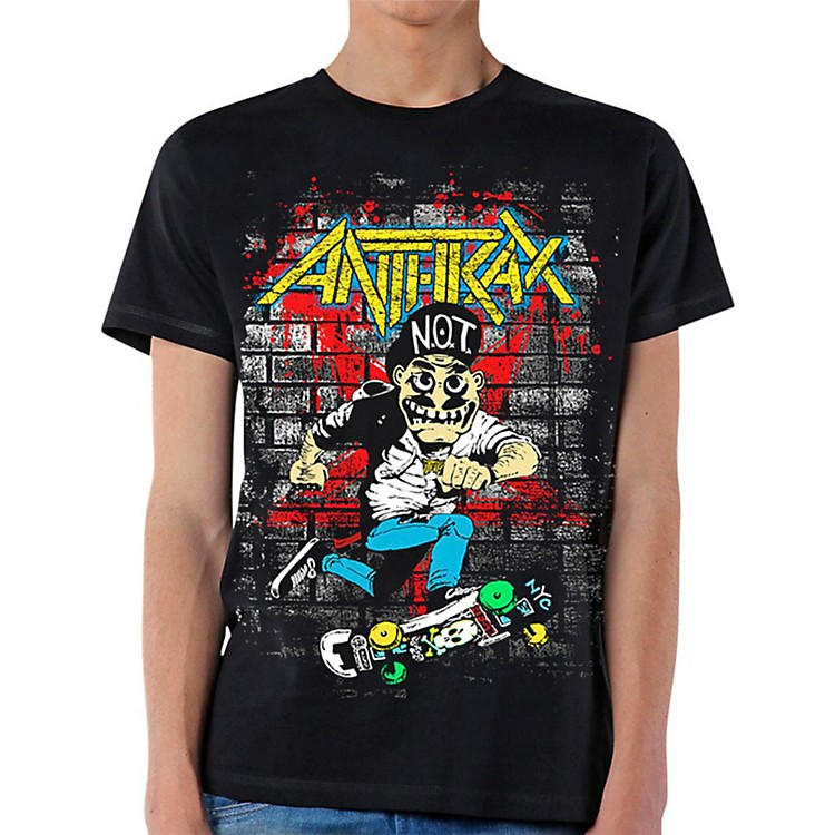 Anthrax Skater Guy T-Shirt S
