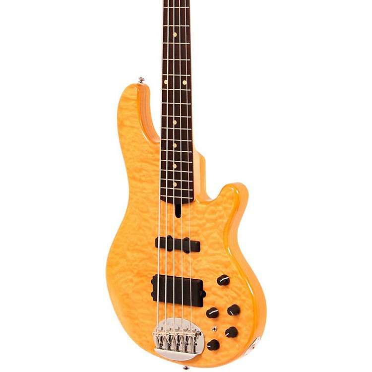 Lakland Skyline Deluxe 55-02 5-String Bass Natural Rosewood Fretboard