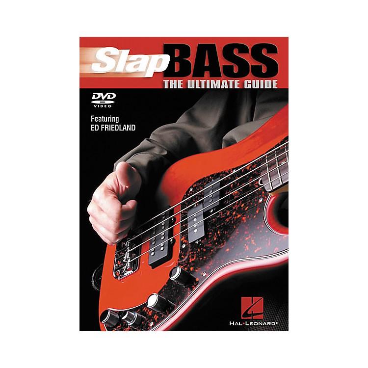 Hal LeonardSlap Bass The Ultimate Guide (DVD)