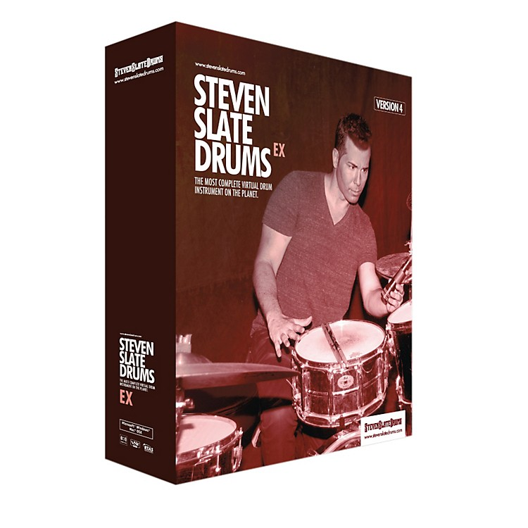 Steven Slate Drums Slate Digital SSD4EX Virtual Instrument