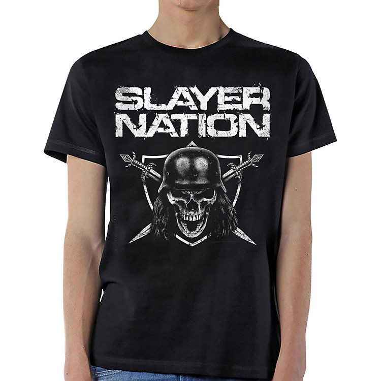 Slayer Slayer Nation T-Shirt Small Black