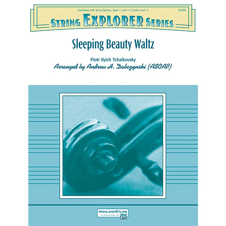 Alfred Sleeping Beauty Waltz String Orchestra Grade 2 Set