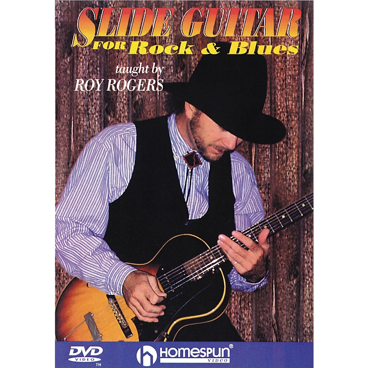HomespunSlide Guitar for Rock and Blues (DVD)