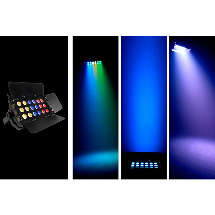 Chauvet SlimBANK Tri-18 Tri-color LED Wash W/ Barn Doors
