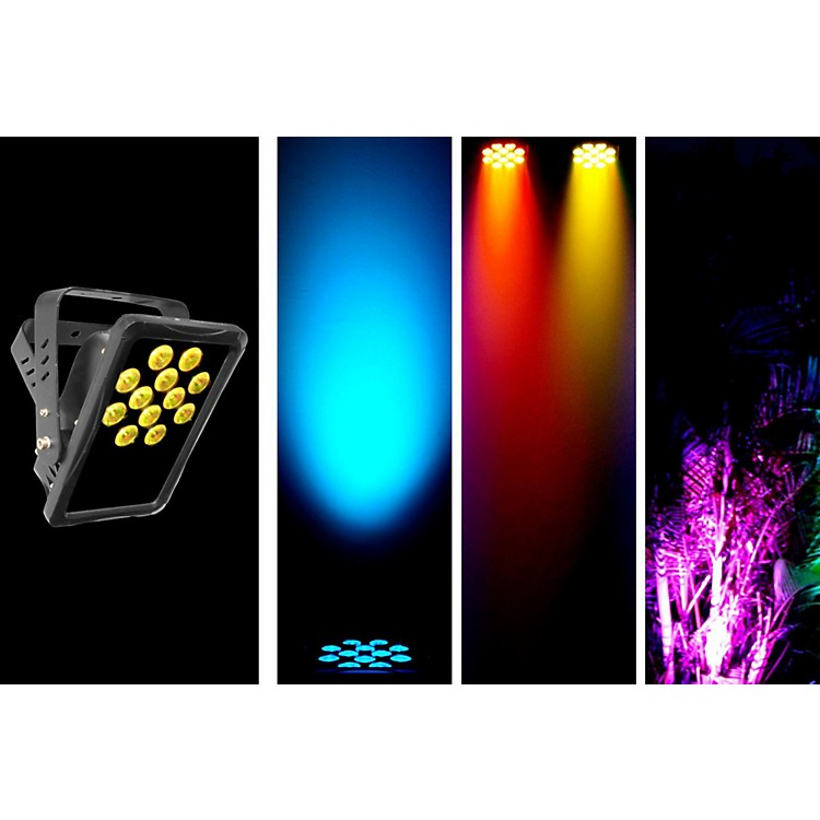 Chauvet SlimPANEL Tri-12 IP Rated Oudoor/Indoor Tri Color LED Wash