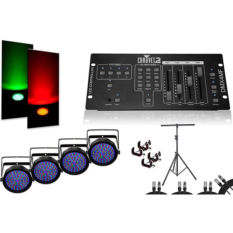 ChauvetSlimPar 64 DMX4MF 4 Light System