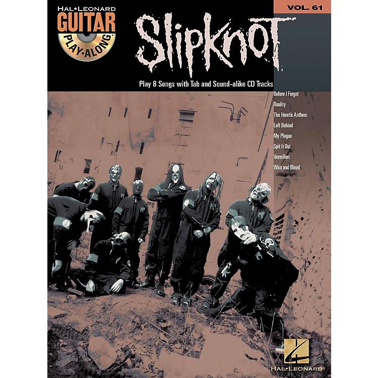 Hal LeonardSlipknot Guitar Play-Along Series Book with CD