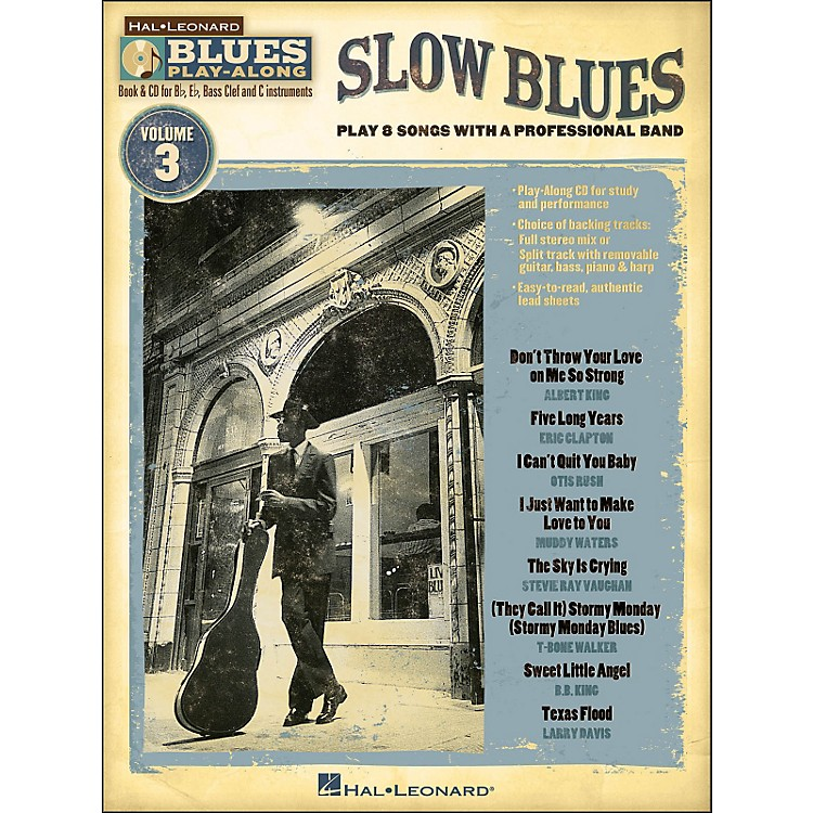 Hal Leonard Slow Blues - Blues Play-Along Volume 3 (Book/CD)