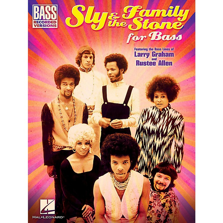 Hal LeonardSly & The Family Stone For Bass - Bass Guitar Tab Songbook