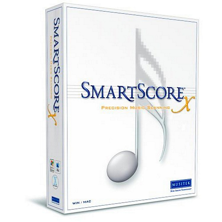 MusitekSmartScore X2 Music Scanning Software MIDI Edition