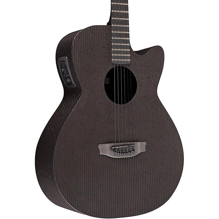RainSongSmokey All-Carbon Stagepro Anthem Acoustic-Electric GuitarDark Satin