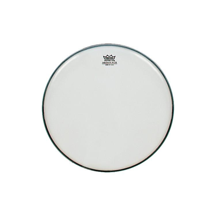 RemoSmooth White Ambassador Batter Drumhead8 in.