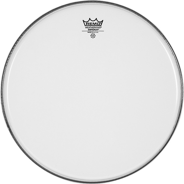 Remo Smooth White Emperor Batter Head  13 in.