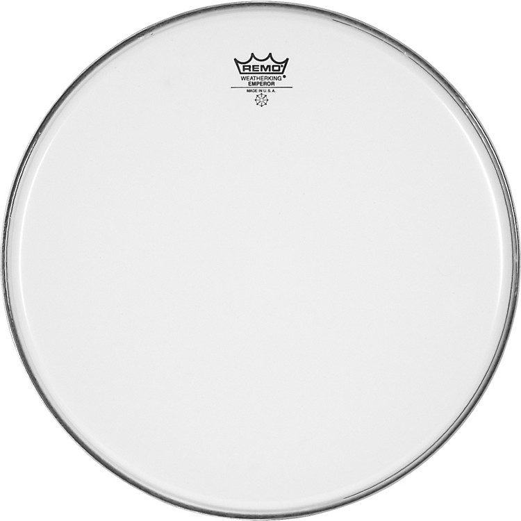Remo Smooth White Emperor Batter Head  14 in.