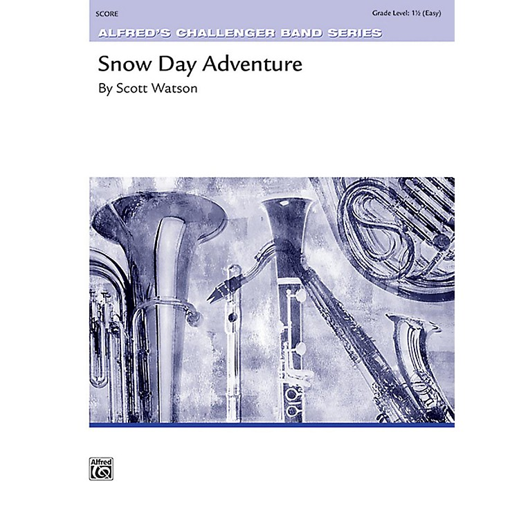 Alfred Snow Day Adventure Concert Band Grade 1.5 Set