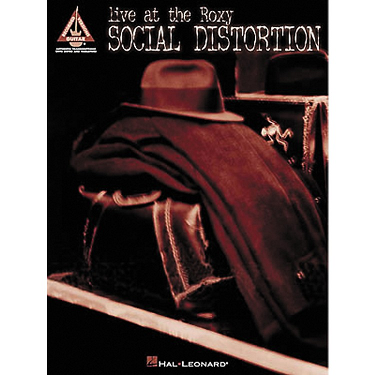 Hal LeonardSocial Distortion Live at the Roxy Guitar Tab Songbook