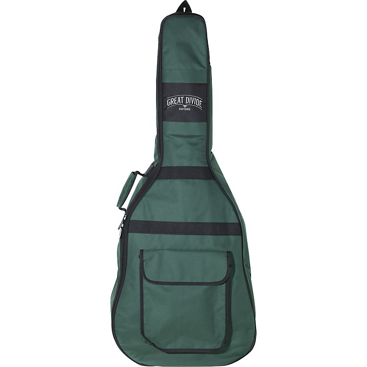 Great Divide Soft-Padded Backpack-Style Acoustic Guitar Gig Bag (Jumbo) &