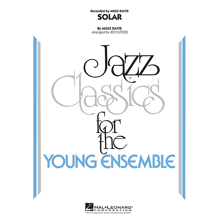 Hal LeonardSolar - Jazz Classics For The Young Ensemble Level 3