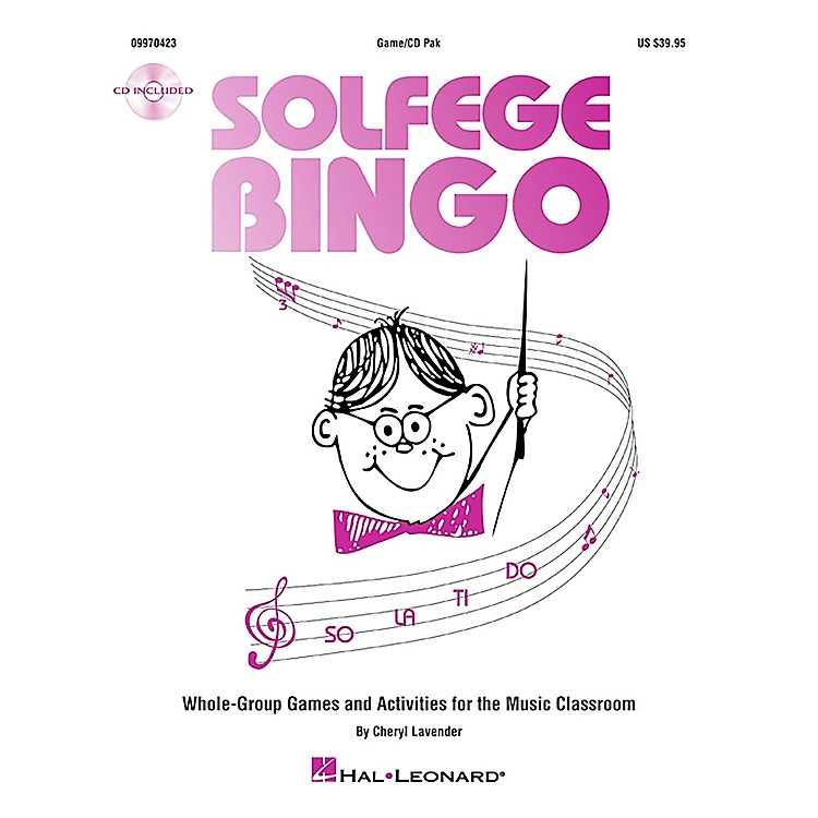 Hal LeonardSolfege Bingo - Whole-Group Games and Activities Game/CD