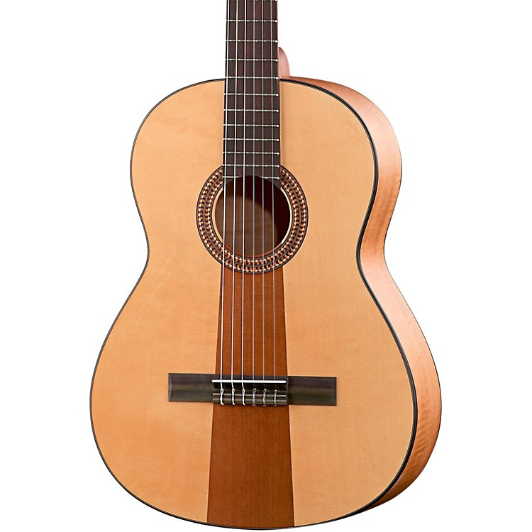 Hofner Solid Spruce/Cedar Top Aningré Body Classical Acoustic Guitar Matte Natural
