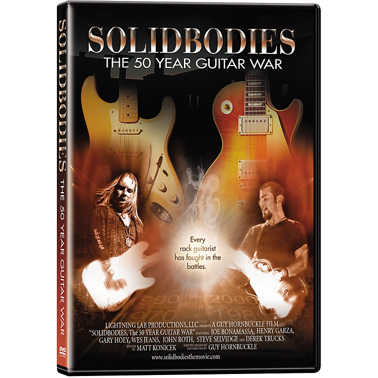 Lightning Lab Productions Solidbodies: The 50 Year Guitar War (DVD)