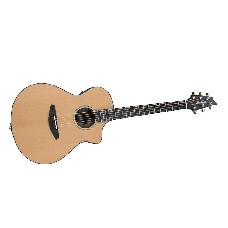 Breedlove Solo Concert-Gold Acoustic-Electric Guitar Natural