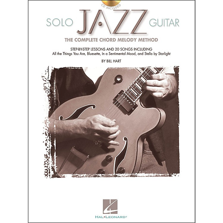 Hal Leonard Solo Jazz Guitar Book/CD