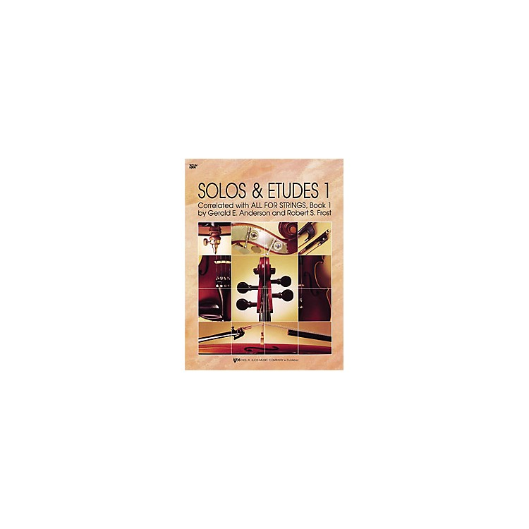 KJOSSolos And Etudes 1 All for Strings Violin Book