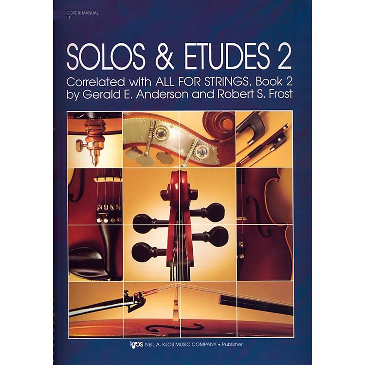 KJOSSolos And Etudes-BOOK 2/SCORE