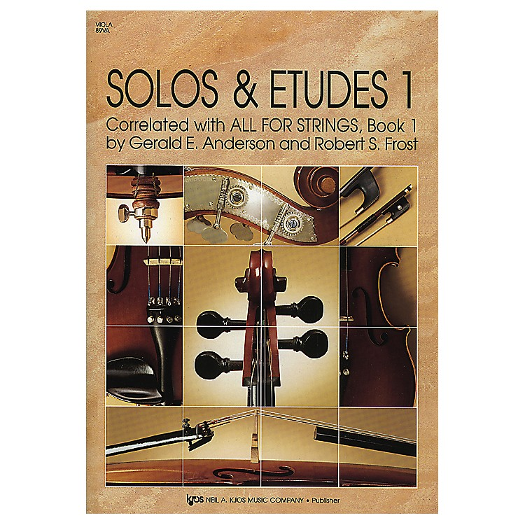 KJOS Solos And Etudes Book1 Viola