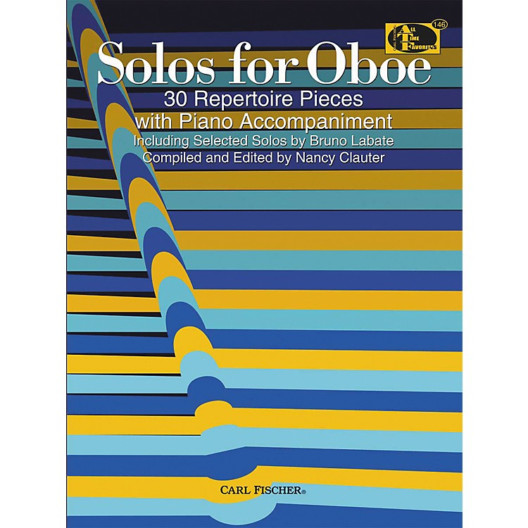Carl Fischer Solos For Oboe Book