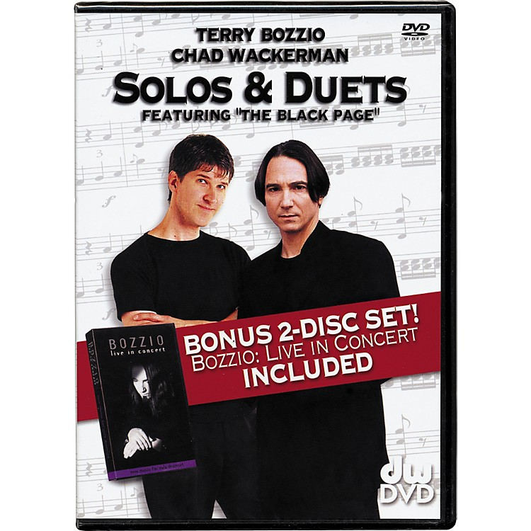 The Drum ChannelSolos and Duets: Terry Bozzio and Chad Wackerman DVD