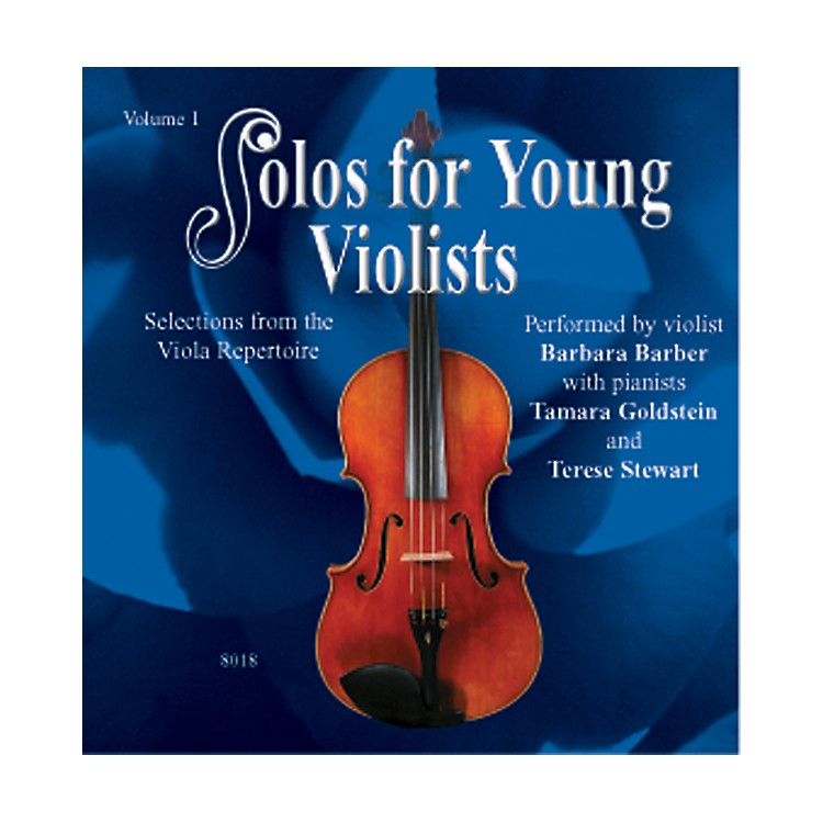 AlfredSolos for Young Violists Vol. 1 (CD)