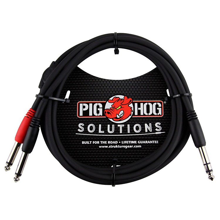 Pig Hog Solutions TRS(M) to Dual 1/4