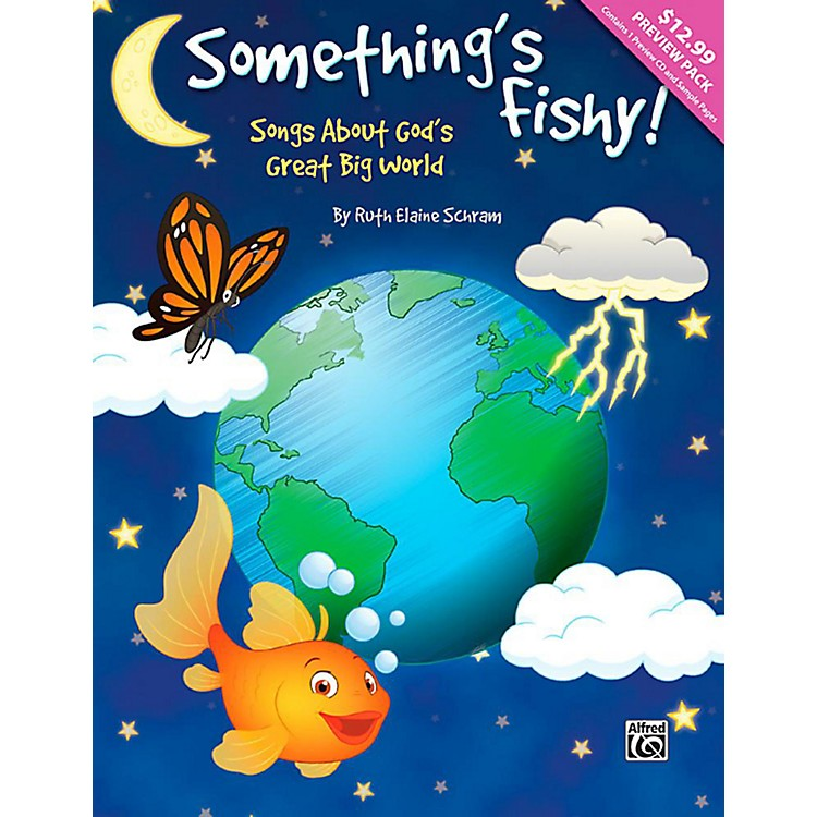AlfredSomething's Fishy! - CD Preview Pack