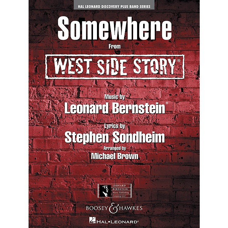 Hal Leonard Somewhere (From West Side Story) - Discovery Plus! Band Series Level 2