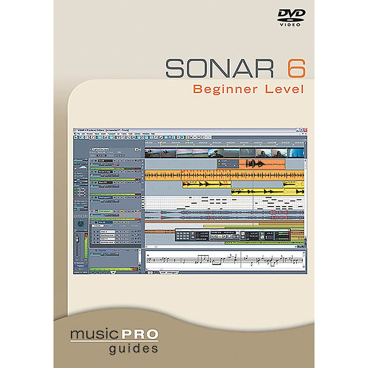 Hal Leonard Sonar 6 Beginner Level DVD Music Pro Guide Series