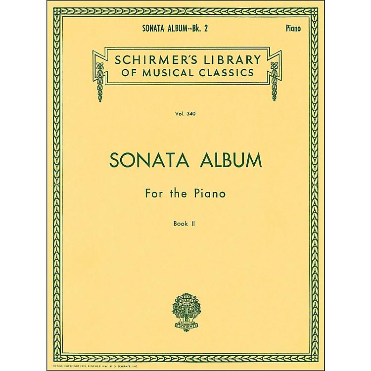 G. SchirmerSonata Album Book 2 for Piano 11 Sonatas By Haydn, Mozart And Beethoven