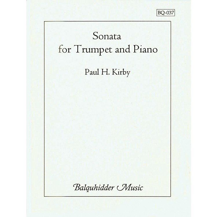 Carl Fischer Sonata for Trumpet & Piano Book
