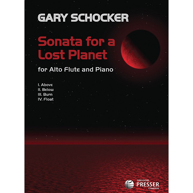 Carl Fischer Sonata for a Lost Planet Book