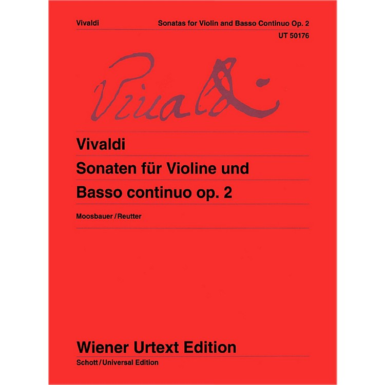 Carl Fischer Sonatas For Violin And Basso Continuo (Book + Sheet Music)