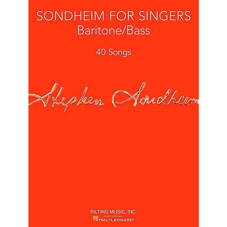 Hal LeonardSondheim For Singers - Baritone/Bass