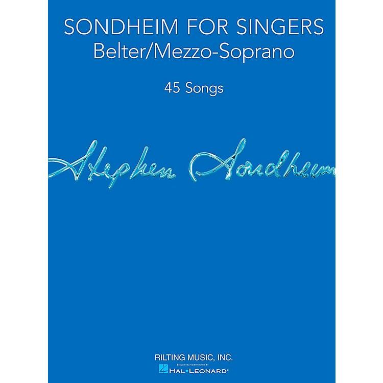 Hal LeonardSondheim For Singers - Belter/Mezzo-Soprano