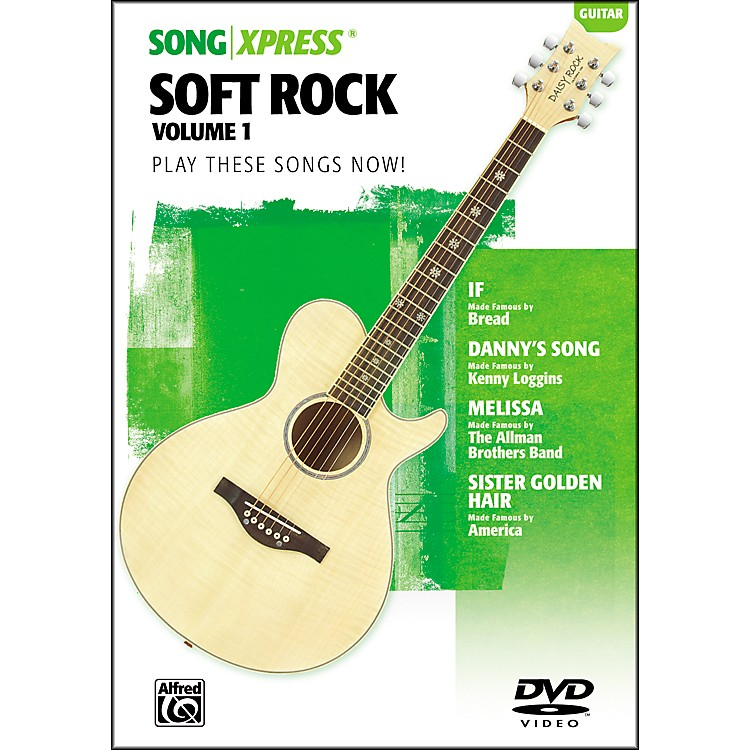 Alfred SongXpress - Soft Rock Volume 1 Guitar DVD