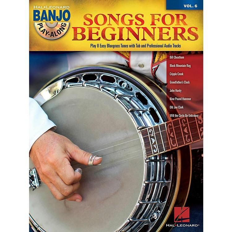 Hal LeonardSongs For Beginners - Banjo Play-Along Vol. 6 Book/CD