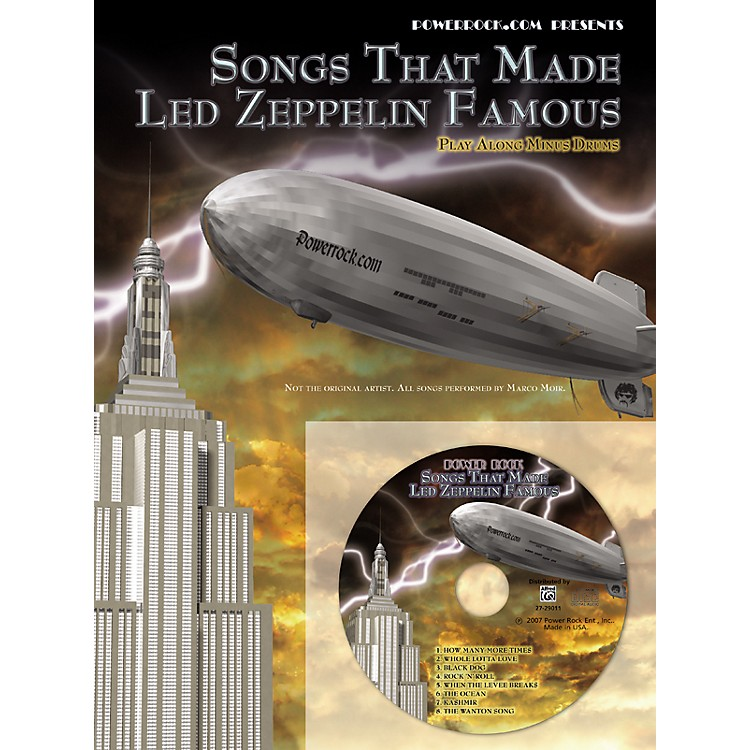 Alfred Songs That Made Led Zeppelin Famous CD