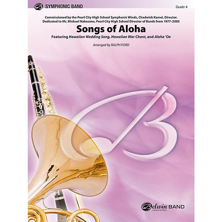 AlfredSongs of Aloha Concert Band Level 4 Set