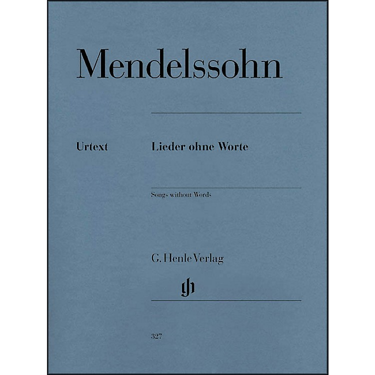 G. Henle VerlagSongs without Words By Mendelssohn