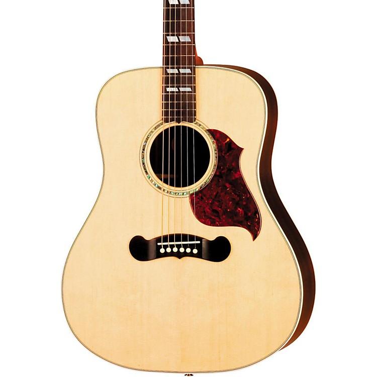Gibson Songwriter Deluxe Studio Acoustic-Electric Guitar Antique Natural Gold Hardware