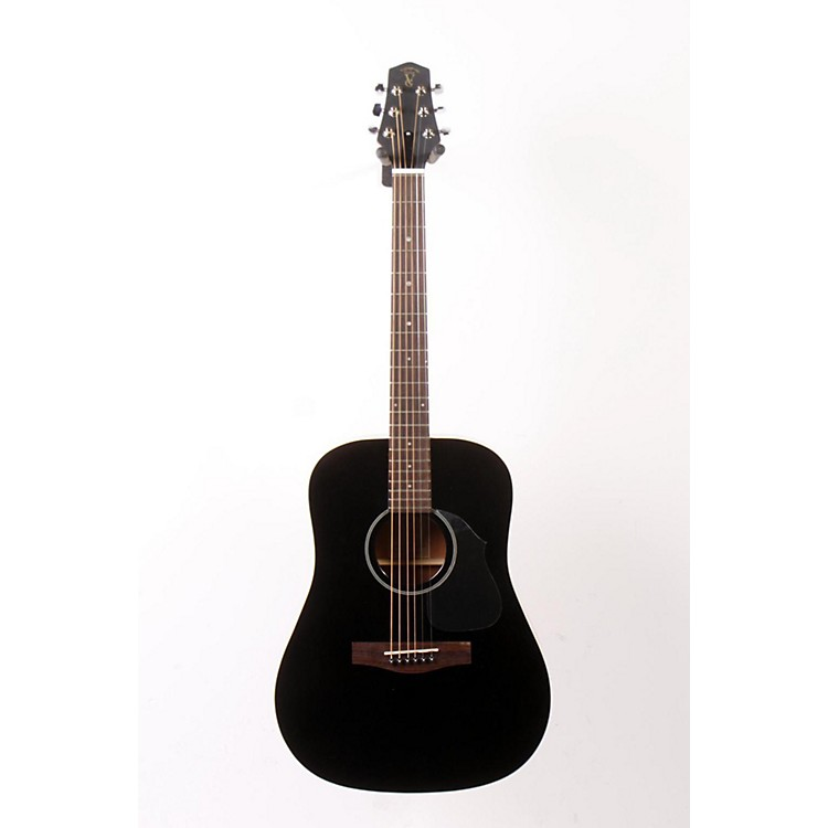 Voyage-Air Guitar Songwriter VAOM-04 Travel Acoustic Guitar Black 888365029085
